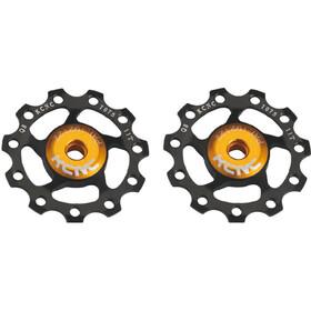 KCNC Jockey Wheel Ultra SS Bearing 11 Zähne Paar schwarz